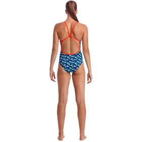 Funkita Eco Single Strap One Piece Costume Donna, touche